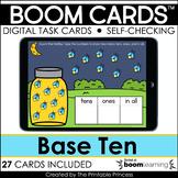 Base Ten Numbers 11-19 | Boom Cards for Kindergarten Dista
