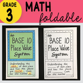 Doodle Notes - Base Ten Numeration System Foldable (3rd gr
