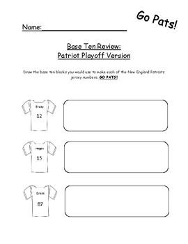 Base Ten Pats Football Jersey Review