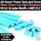 Base Ten: Place Value 1st Grade: Activities by the Standards NBT Bundle