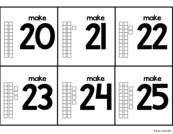 Base Ten Place Value Activities and Practice (Teen Numbers, 0-20)