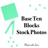 Math Stock Photos l Base Ten Place Value Blocks