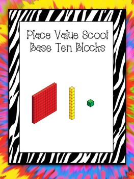 Base Ten Place Value Scoot!