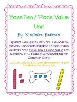Base Ten / Place Value Unit