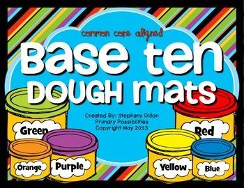 Base Ten Dough Fun! {Common Core Aligned}