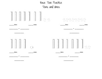 Base Ten Practice