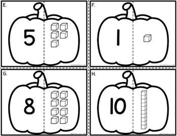 Base Ten Pumpkins - Base Ten Identification