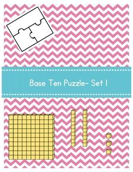 Base Ten Puzzle- Set 1