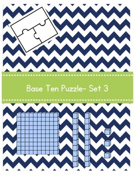 Base Ten Puzzle- Set 3