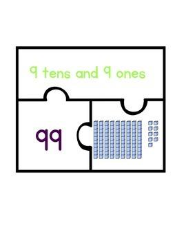 Base Ten Puzzle- Set 3
