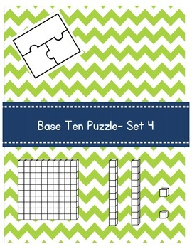 Base Ten Puzzle- Set 4