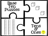 Base Ten Puzzles (tens and ones)