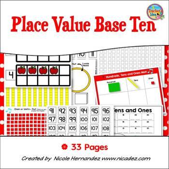 Place Value - Base Ten Block Party