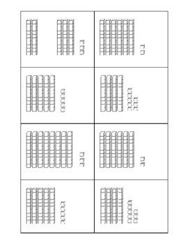Base Ten Rods Activities