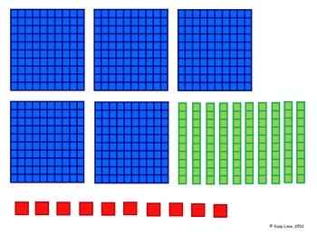 Base Ten Roll Math Game