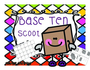Base Ten Scoot {Task Cards}