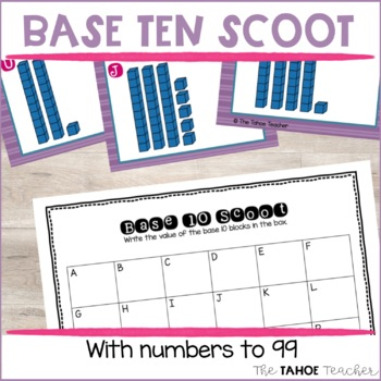 Base Ten Scoot (or Write the Room)