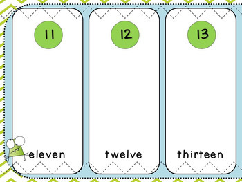 Base Ten Sort (Kindergarten, K.NBT.1)