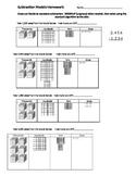 Base Ten Subtraction Models
