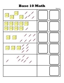 Base Ten Tiles!