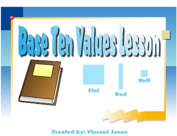 Base Ten Values Lesson and Practice Sheet