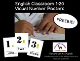 Base Ten Visual Number Classroom Posters