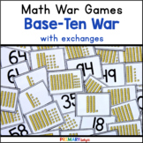 Place Value Game   Base Ten War with Exchanges