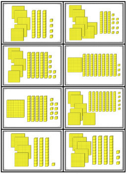 Place Value Game - Base Ten War to 1,000