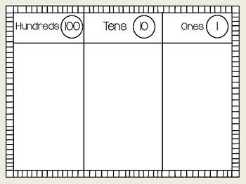 Base Ten Workmat