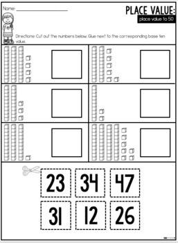 Base Ten Worksheets