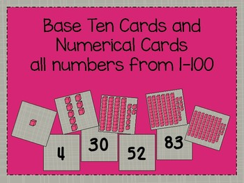 Base Ten and Number Cards