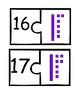 Base Ten blocks matching
