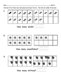 Base Ten practice pages (covering 10-19)