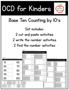 Base Tens- Counting by Tens