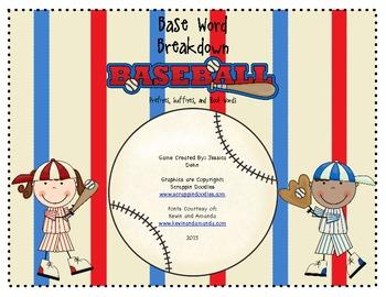 Base Word Breakdown Baseball
