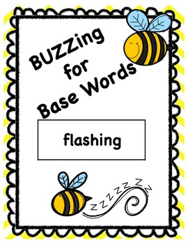 Base Word Buzzing for Base Words Game