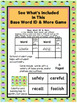 Base Word ID & More! Fun, hands-on activities to id base words and affixes