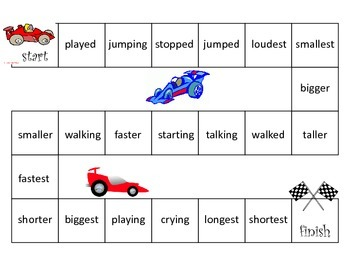 Base Word Racing
