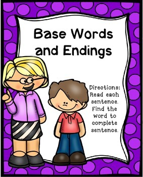 Base Words Literacy Center