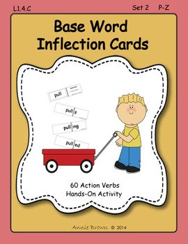 Base Words - Inflection Cards