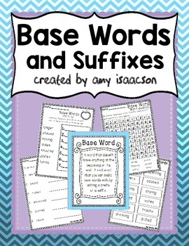 Base Words, Root Words
