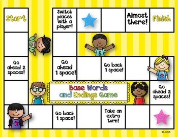 Base Words and Endings Activities {adding -s, -es, -ed, -ing}