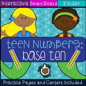 Base ten: Diving into Teen Numbers  (SMART Board)