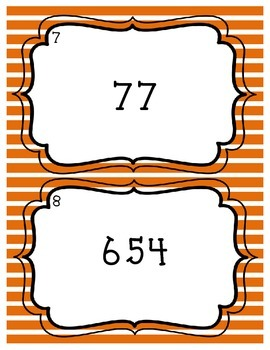 Base-ten Numeral, Number Name, and Expanded Form Task Cards - Set of 32 4.NBT.2