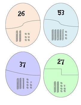 Base ten block number matching