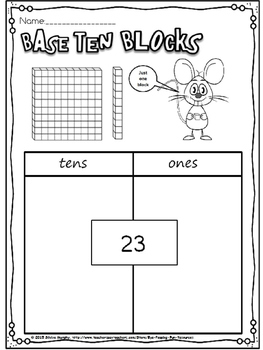 Base ten blocks(free)