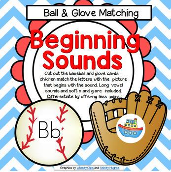 Baseball Beginning Sounds Center
