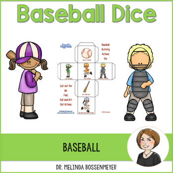 Baseball Activity Dice