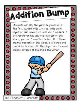 Baseball Addition Bump
