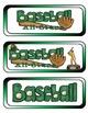 Baseball All-Stars Mini Research Fold-Ems, GOs and Writing